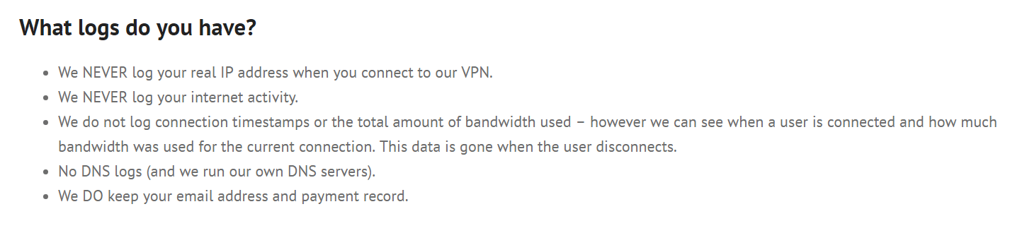 blackvpn logging faq