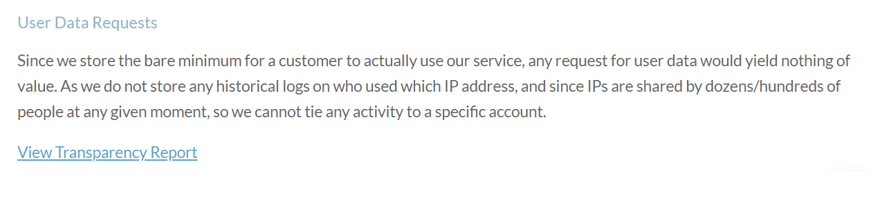 Windscribe VPN Privacy Policy
